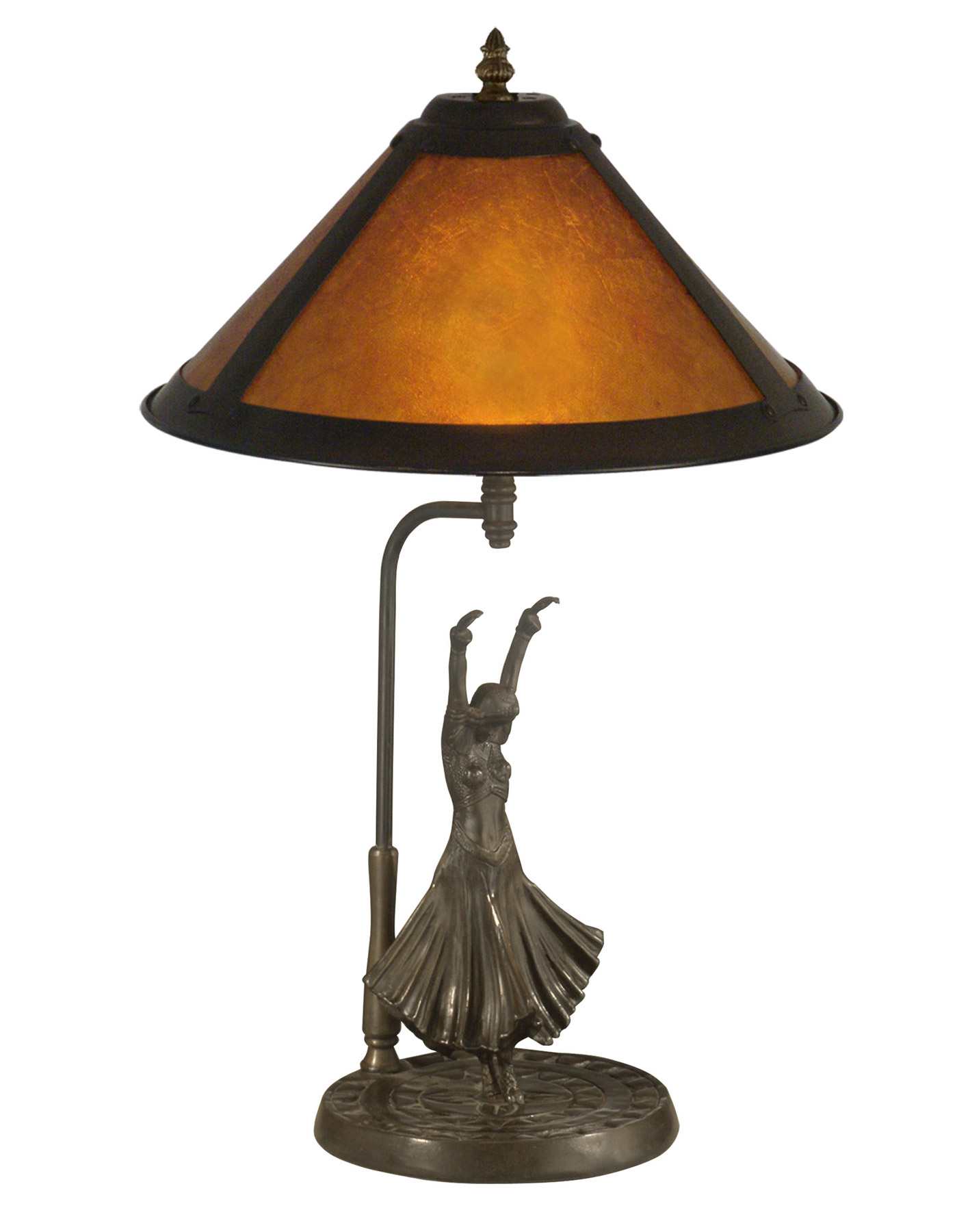 Dale Tiffany TT11185 Dancer Table Lamp