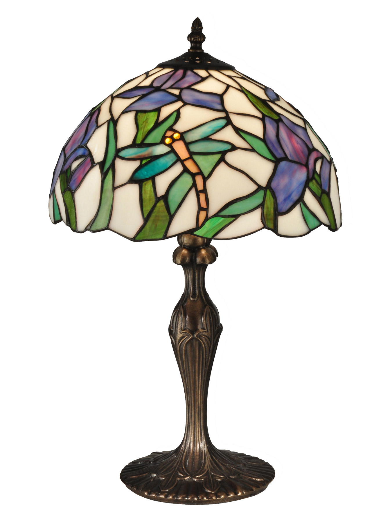 Dale Tiffany Tt12338 Tiffany Prosa Dragonfly Table Lamp