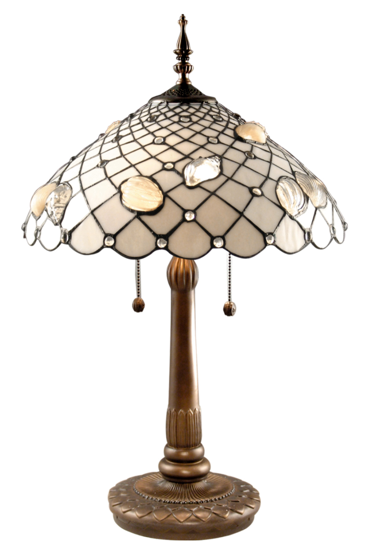 Dale Tiffany Tt60055 Tiffany Shells Table Lamp