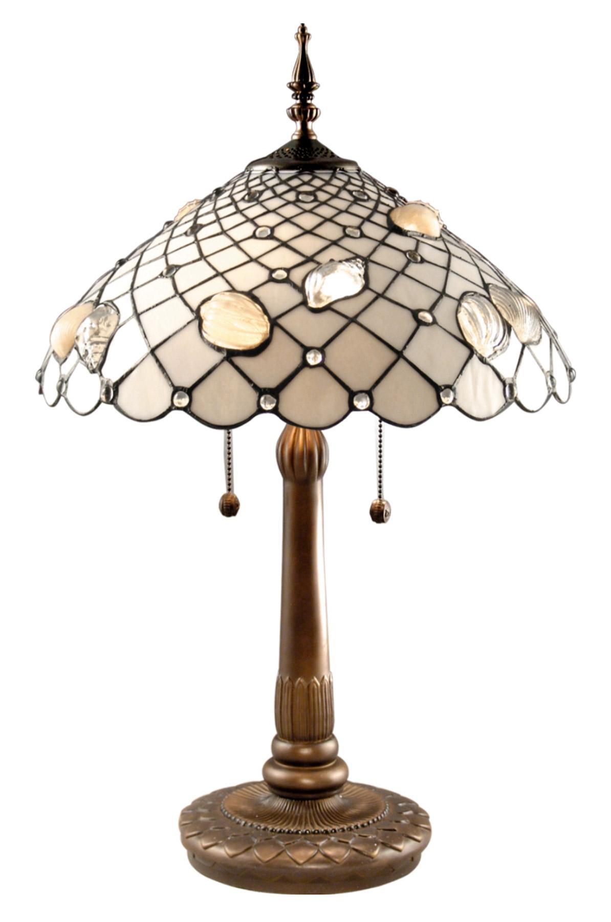 Dale Tiffany Tt60055 Tiffany Shells Table Lamp