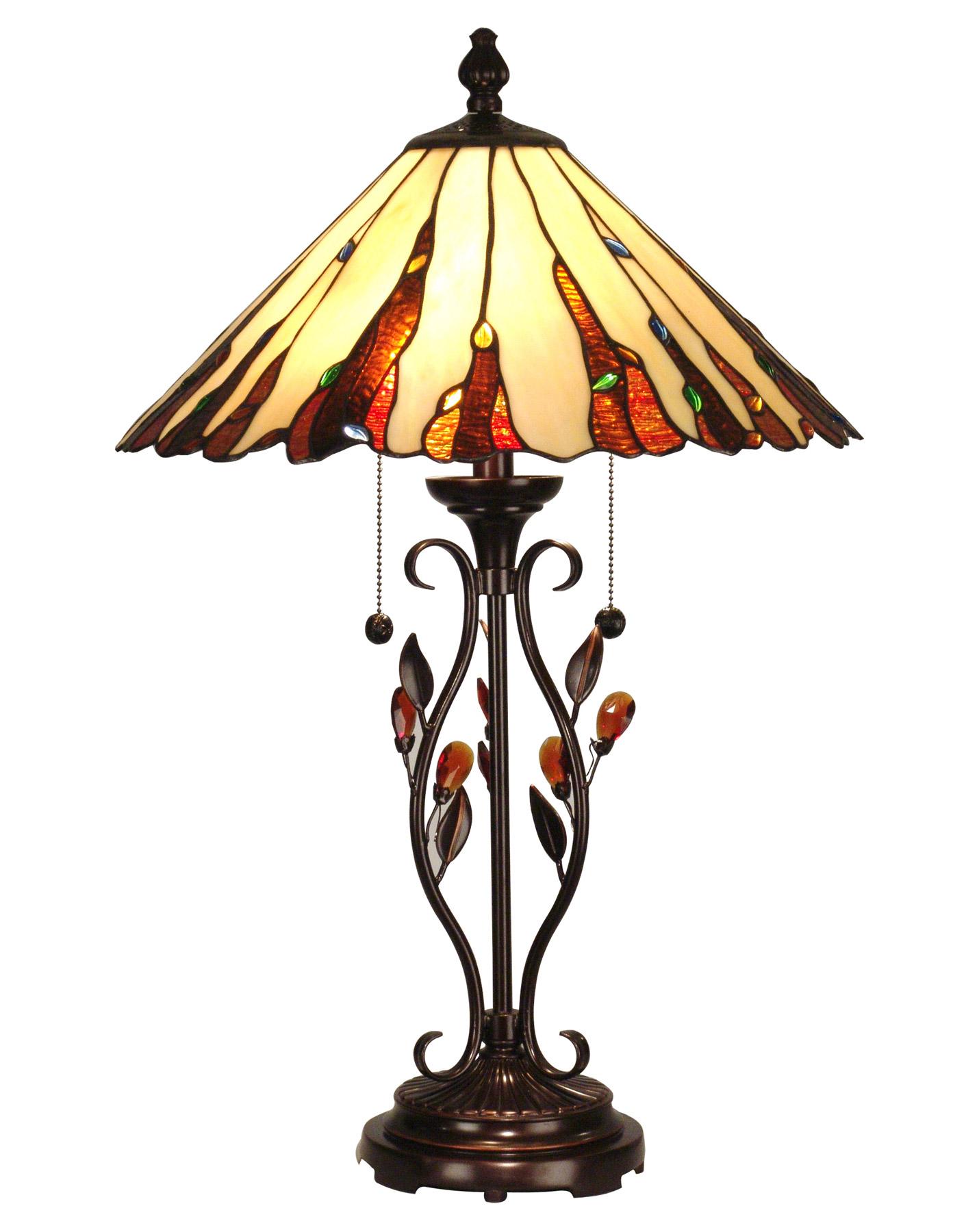 Dale Tiffany Tt90178 Tiffany Ripley Table Lamp