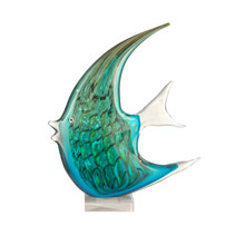Dale Tiffany AS11107 Glass Angel Fish Figurine