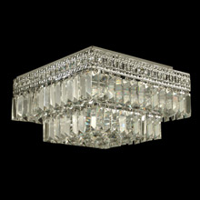 Dale Tiffany GH90288 Crystal Berlin Flush Mount Ceiling Light Fixture