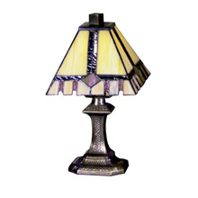 Dale Tiffany TA100351 Craftsman Castle Cut Miniature Accent Lamp
