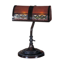 Dale Tiffany TA100682 Craftsman Egyptian Desk Lamp