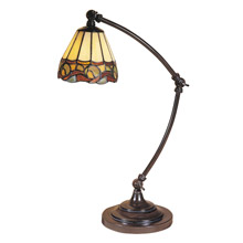 Dale Tiffany TA100700 Tiffany Ainsley Desk Lamp