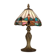 Dale Tiffany TA10606 Tiffany Jeweled Dragonfly Accent Lamp