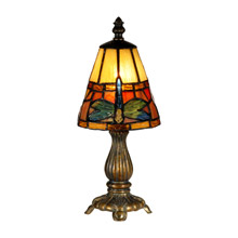 Dale Tiffany TA13005 Tiffany Dragonfly Mini Accent Lamp