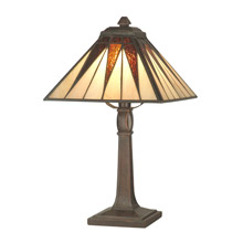 Dale Tiffany TA70680 Craftsman Cooper Miniature Accent Lamp