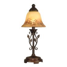 Delightful Dale Tiffany TA80540 Leaf Vine Mini Accent Lamp