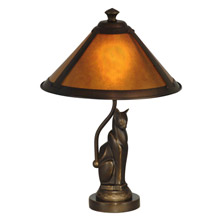 Dale Tiffany TA90197 Craftsman Ginger Accent Lamp