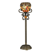 Dale Tiffany TB10098 Tiffany Dragonfly Torchiere Buffet Lamp