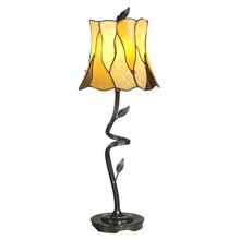 Dale Tiffany TB11030 Tiffany Twisted Leaf Buffet Lamp