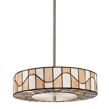 Dale Tiffany TH13011 Tiffany Sandfield Modern Inverted Pendant