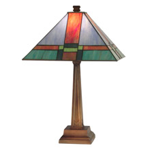 Dale Tiffany TT11047 Craftsman Tranquility Table Lamp