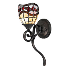 Dale Tiffany TW12424 Tiffany Fall River Wall Sconce