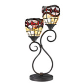 Tiffany Fall River Table Lamp - Dale Tiffany TT12426