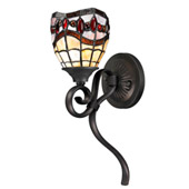 Tiffany Fall River Wall Sconce - Dale Tiffany TW12424