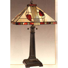 High Quality Dale Tiffany 2721/739 Henderson Mission Table Lamp