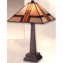 Craftsmanmission table lamps lamps beautiful dale tiffany 8655551 table lamp aloadofball Images