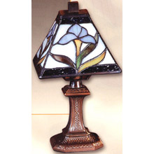 Dale Tiffany TA100353 Tiffany Iris Accent Lamp