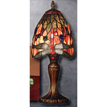 Dale Tiffany TT101287 Tiffany Dragonfly Accent Lamp
