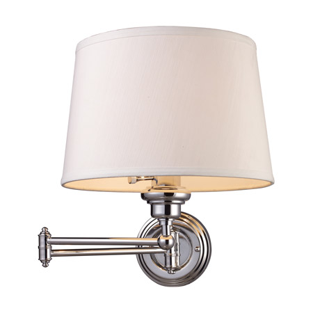 Elk lighting 11210 1 westbrook swing arm wall lamp Beautiful swing arm wall lamps and sconces
