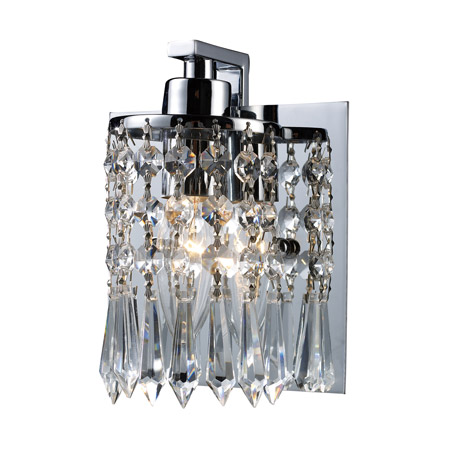 Elk Lighting 11228/1 Crystal Optix Wall Sconce