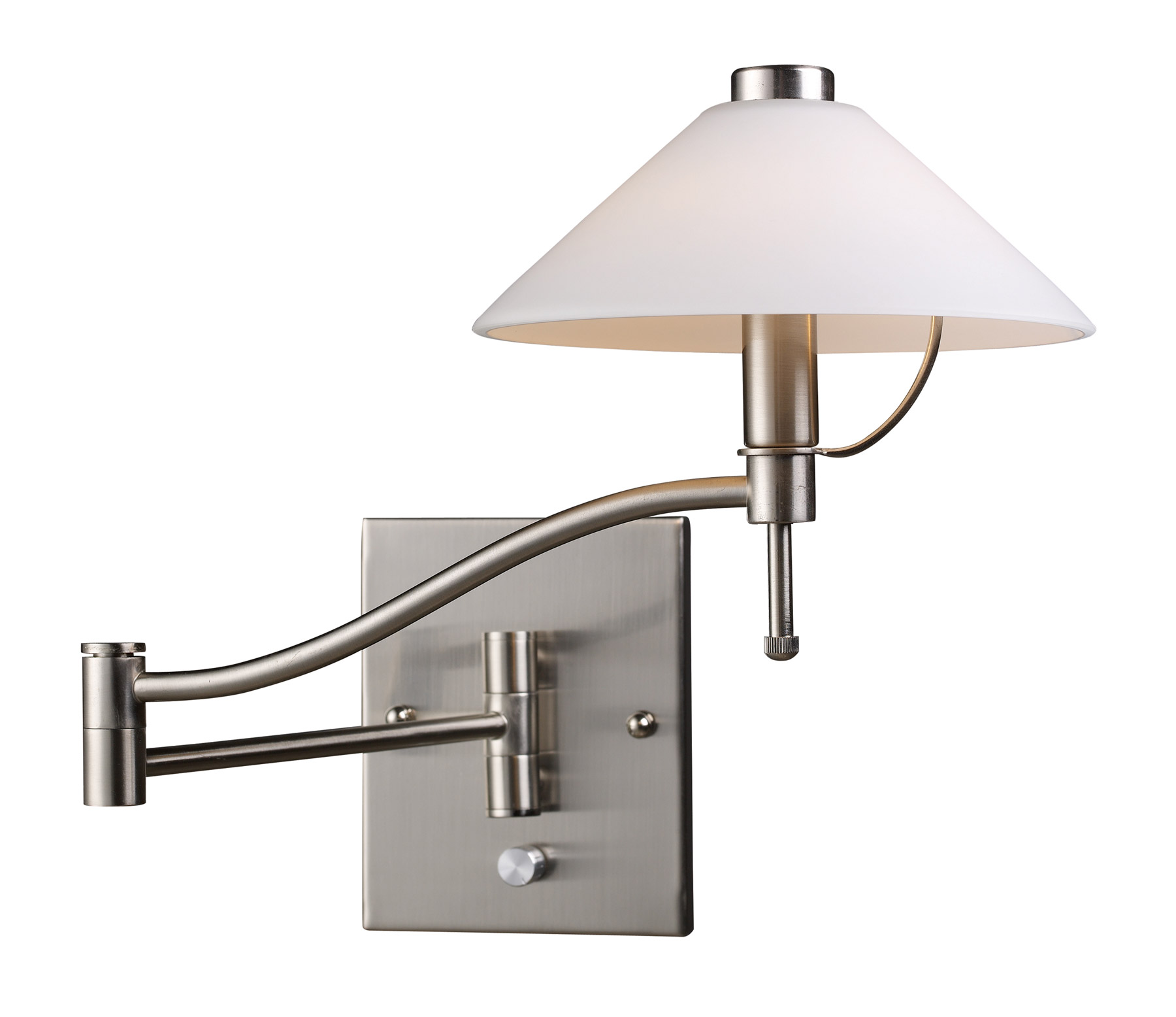 Elk lighting 10112 1 swingarm swing arm wall sconce Beautiful swing arm wall lamps and sconces