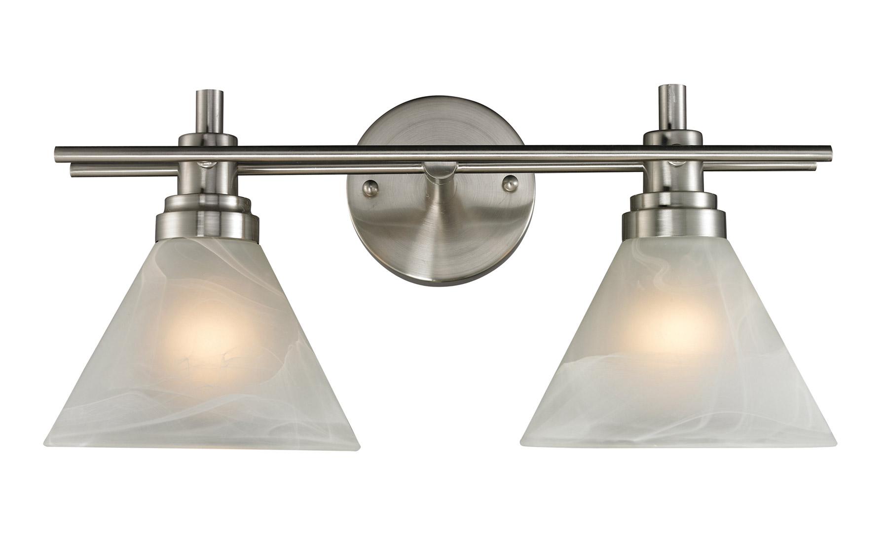 Elk lighting 11401 2 pemberton vanity light for Elk bathroom lighting
