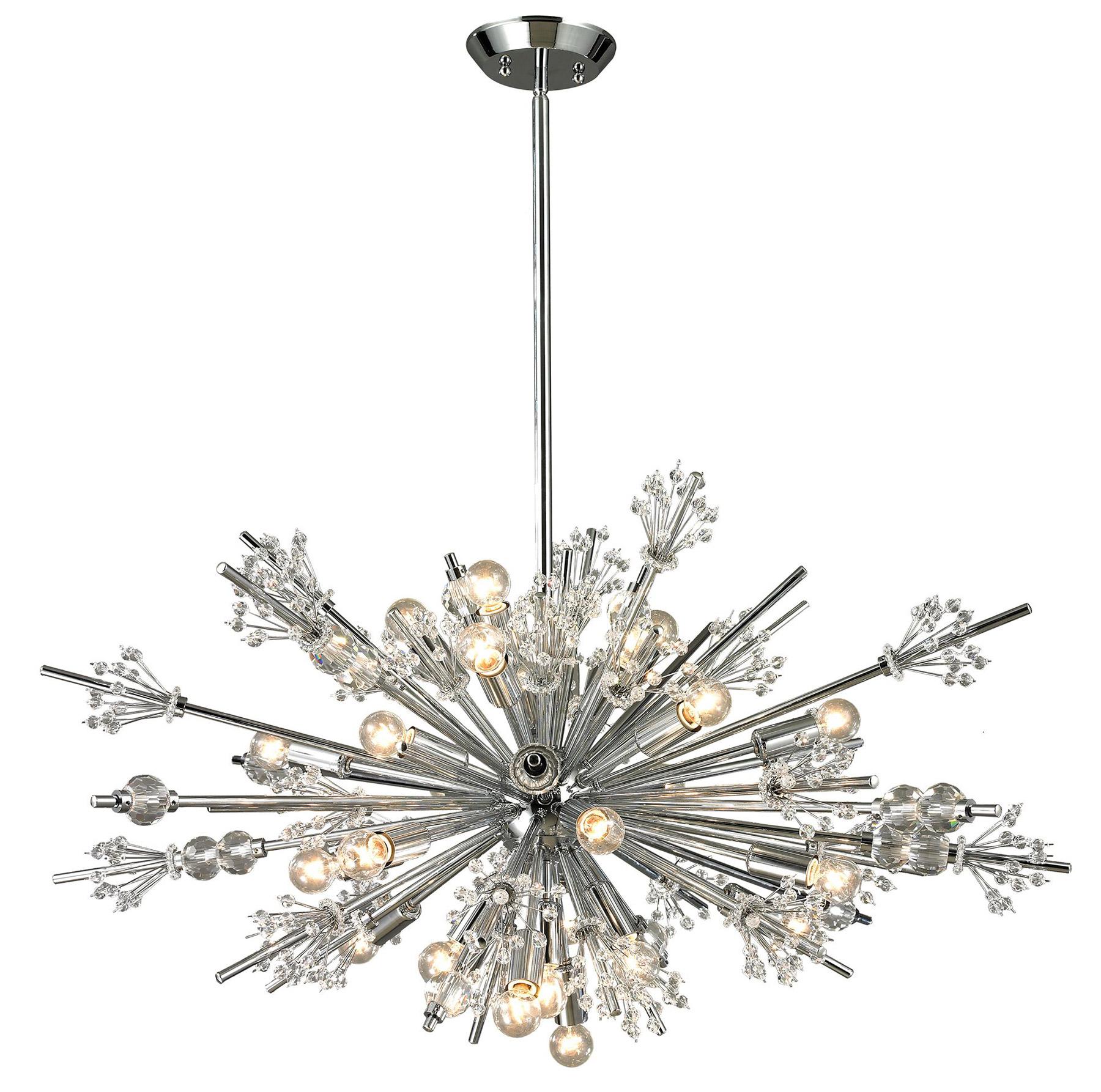 Elk Lighting 11752 24 Starburst 24 Light Chandelier