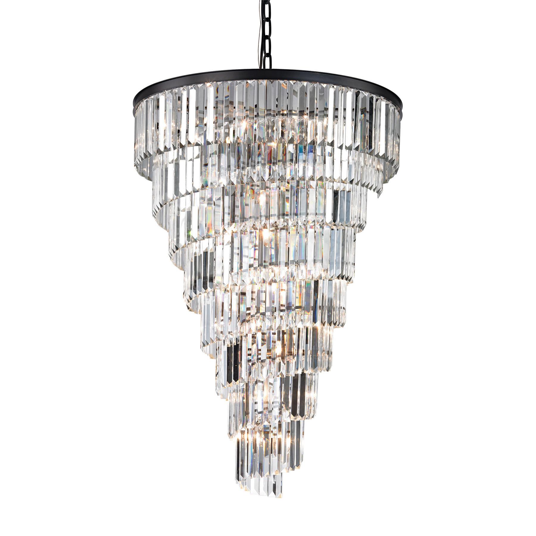 Lighting 14 Crystal Palacial 14 Light Chandelier In Oil