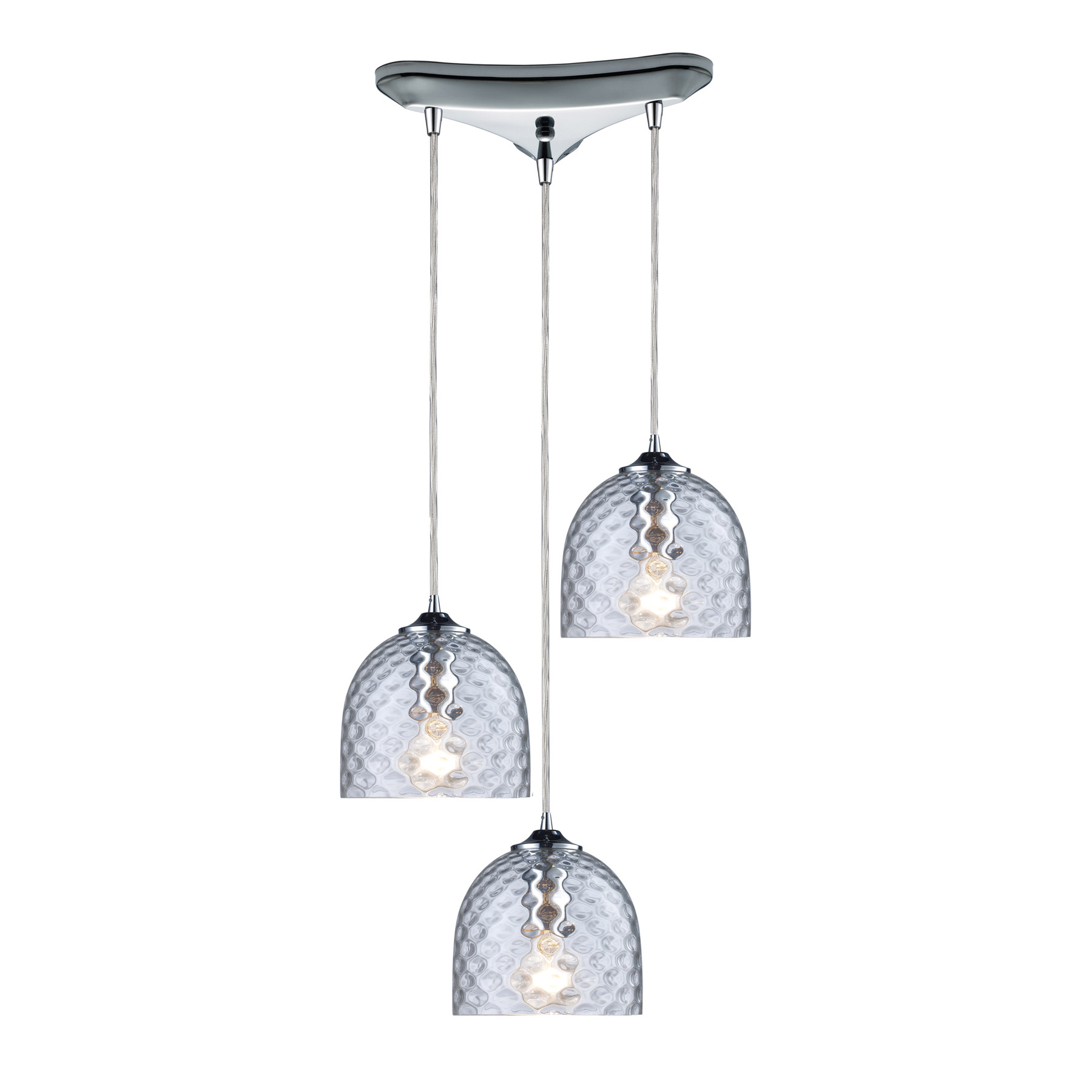 elk lighting 31080 3clr viva 3 light multi pendant ceiling