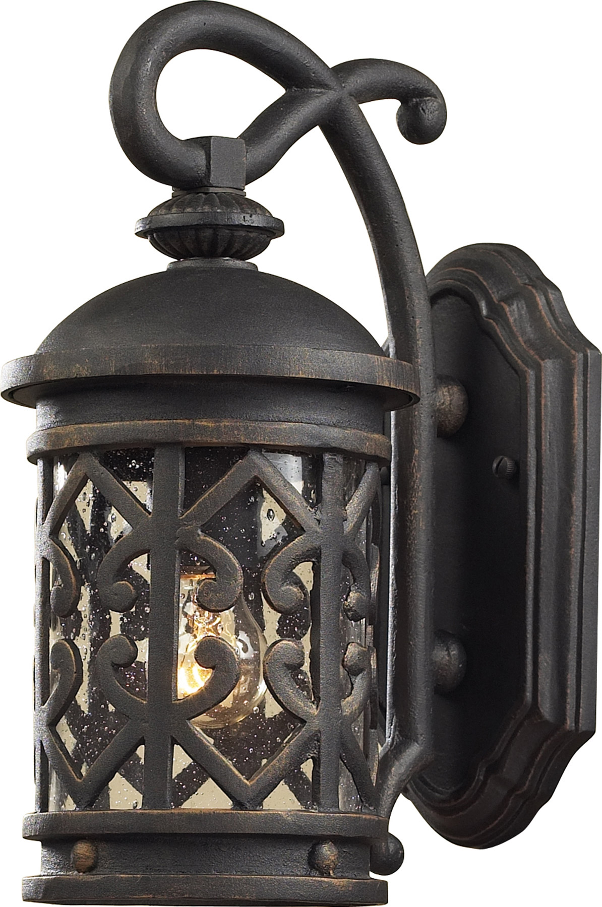 Elk Lighting 42060 1 Tuscany Coast Exterior Wall Sconce