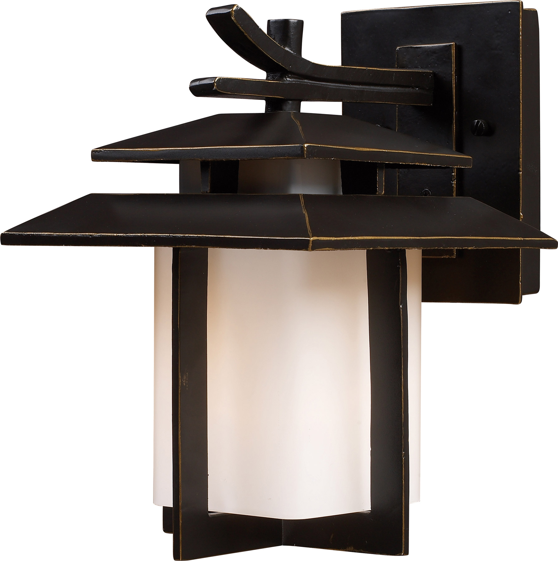 Lighting 421701 kanso outdoor wall mount lantern elk lighting 421701 kanso outdoor wall mount lantern aloadofball Image collections