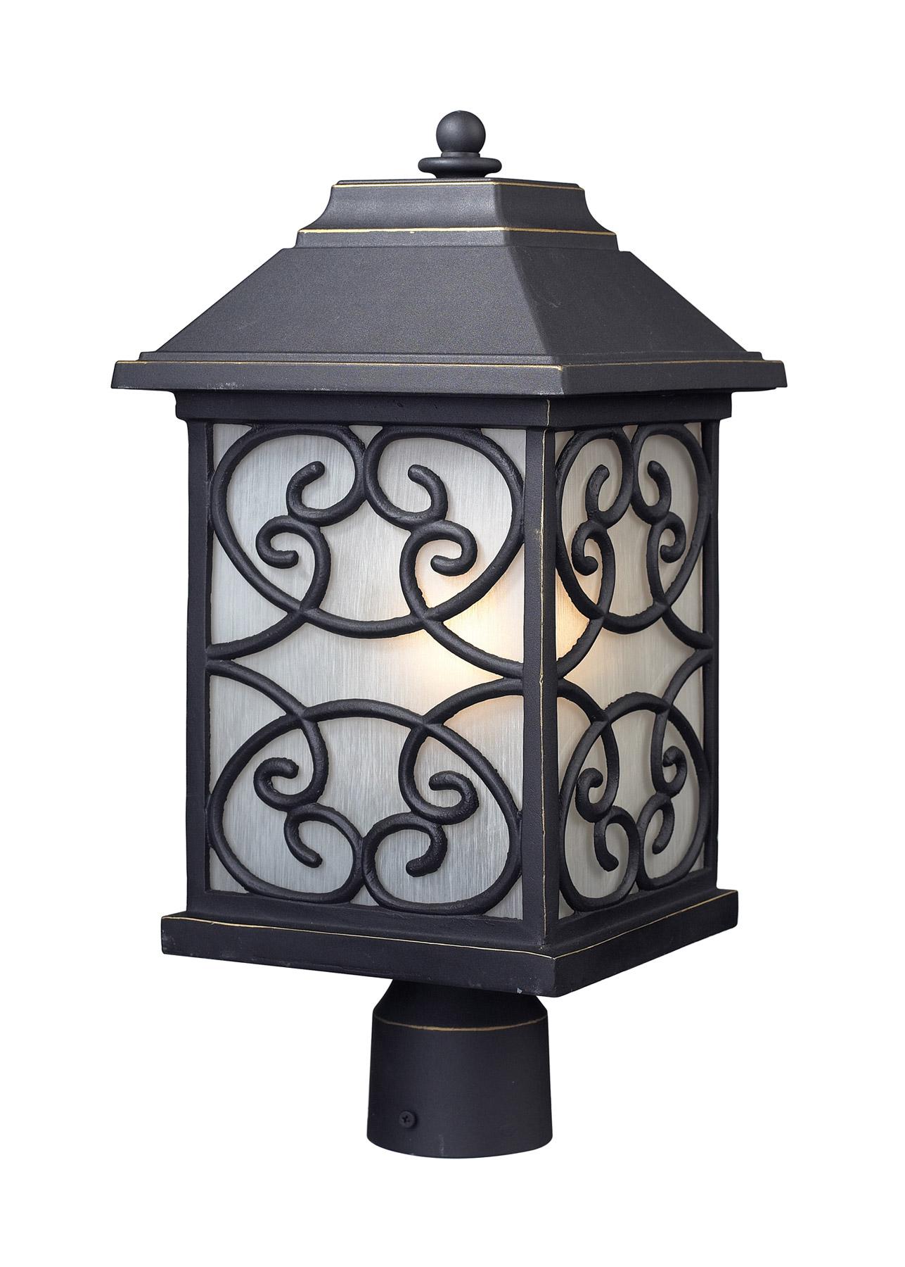 home outdoor lighting pier mounted fixtures elk lighting 42283 1