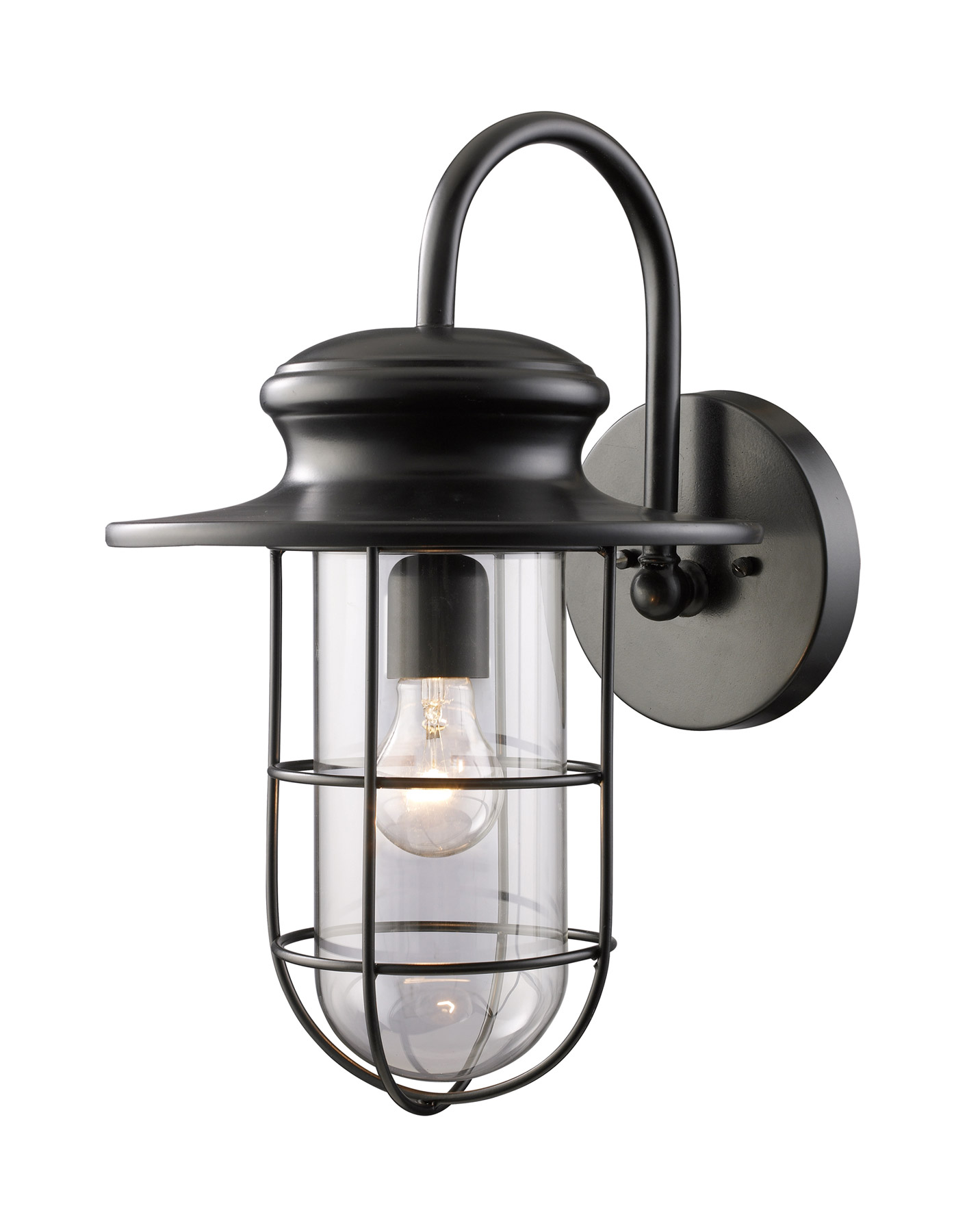 Elk Lighting 42285 1 Portside Outdoor Wall Mount Lantern
