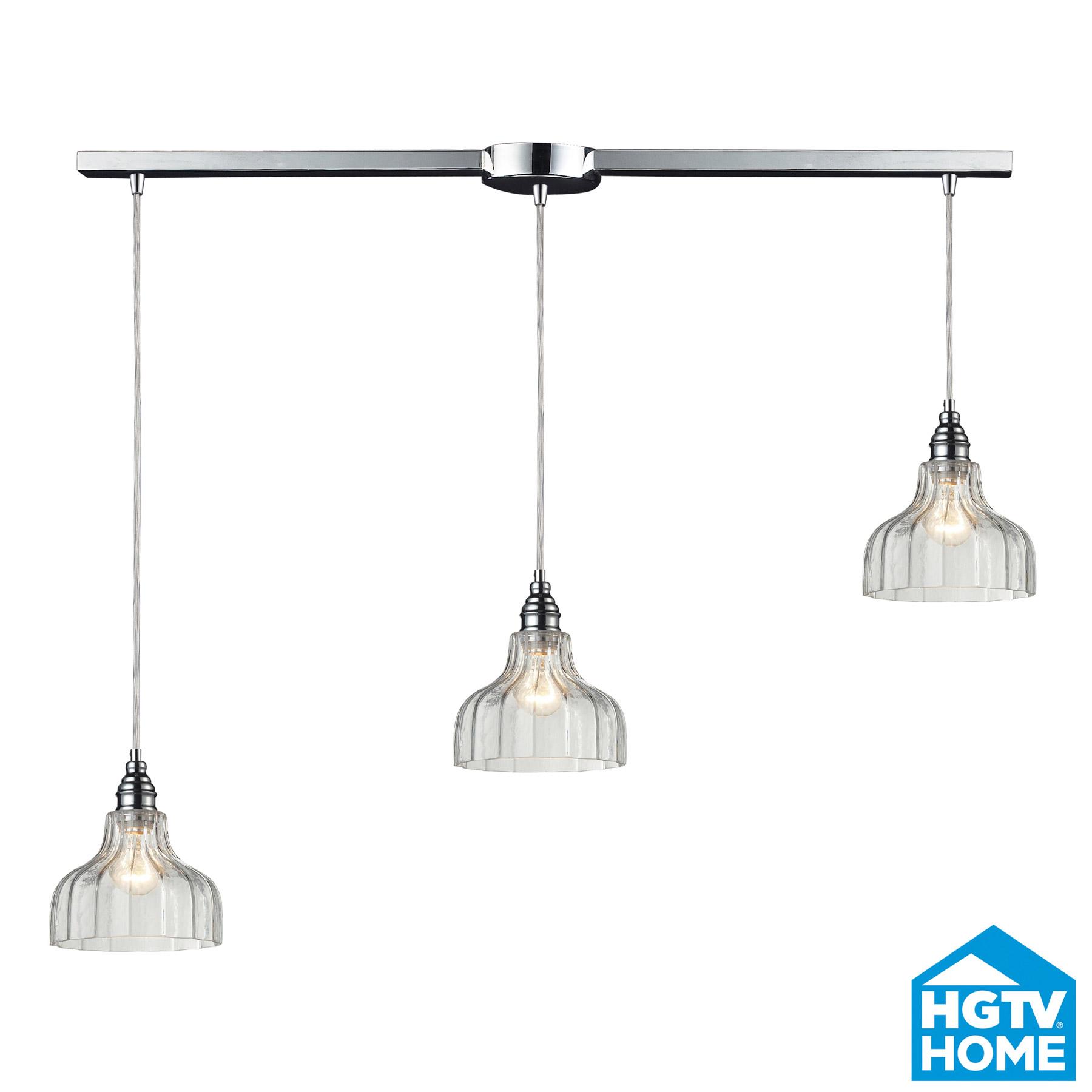 elk lighting 46018 3l danica linear multi pendant ceiling
