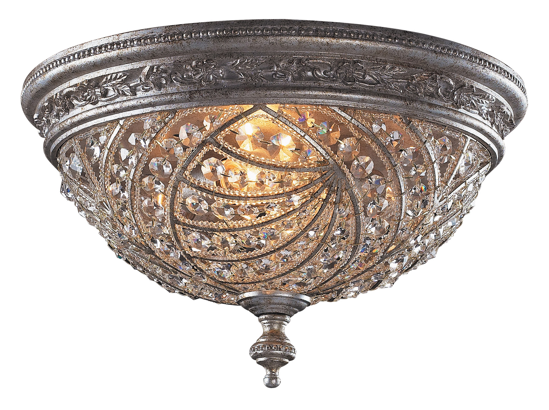Elk lighting 62324 crystal renaissance flush mount ceiling fixture aloadofball Choice Image