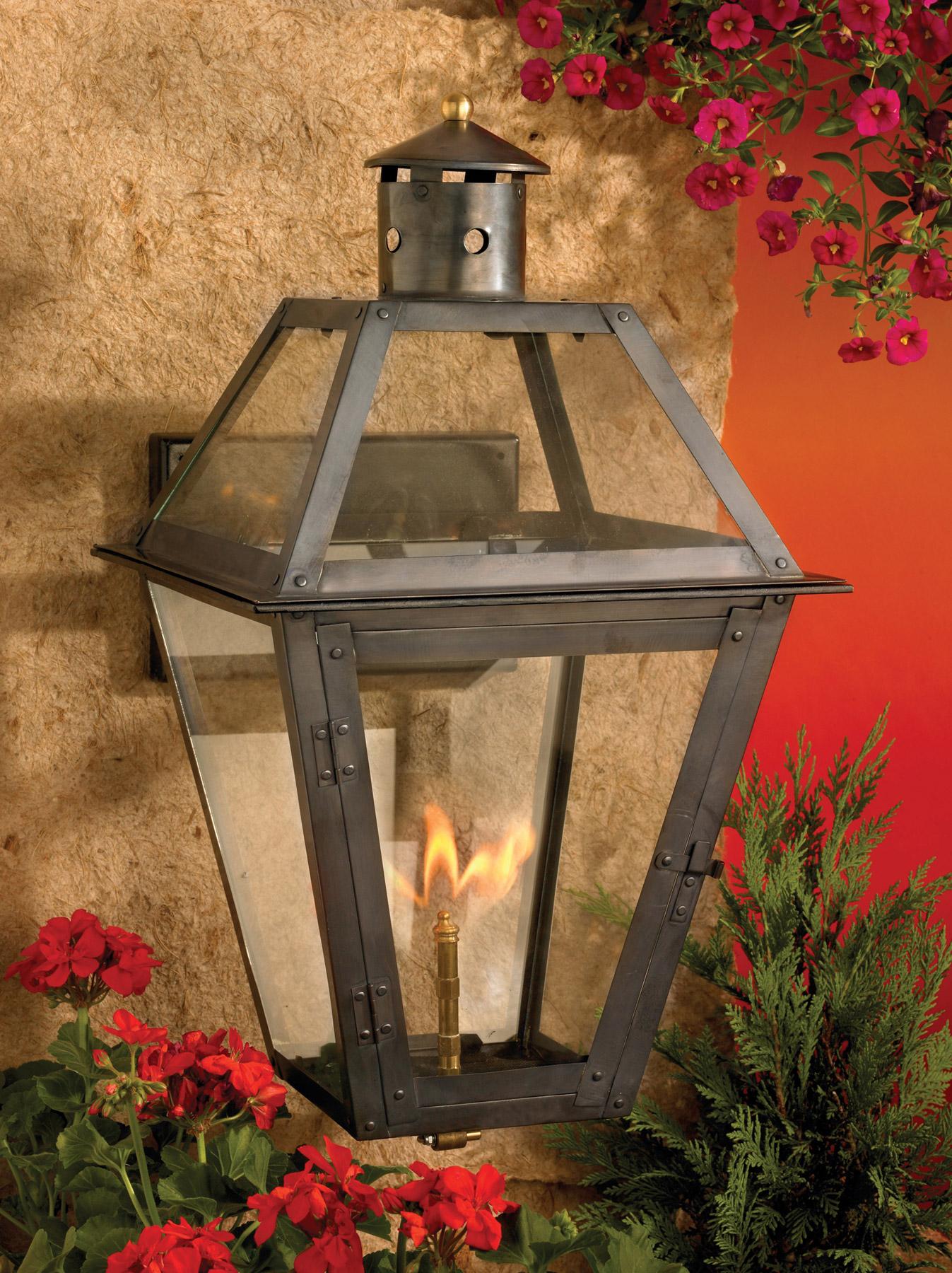 Elk Lighting 7933 Wp Grande Isle Outdoor Gas Wall Lantern
