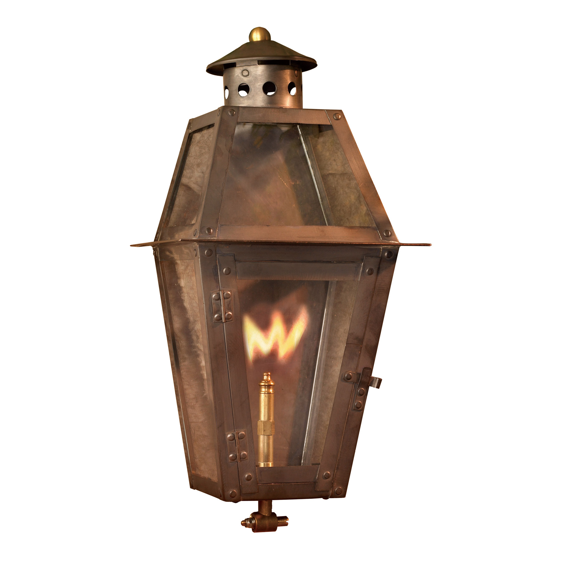 Wall Gas Lamps : Elk Lighting 7940-WP Grande Isle Outdoor Gas Wall Lantern
