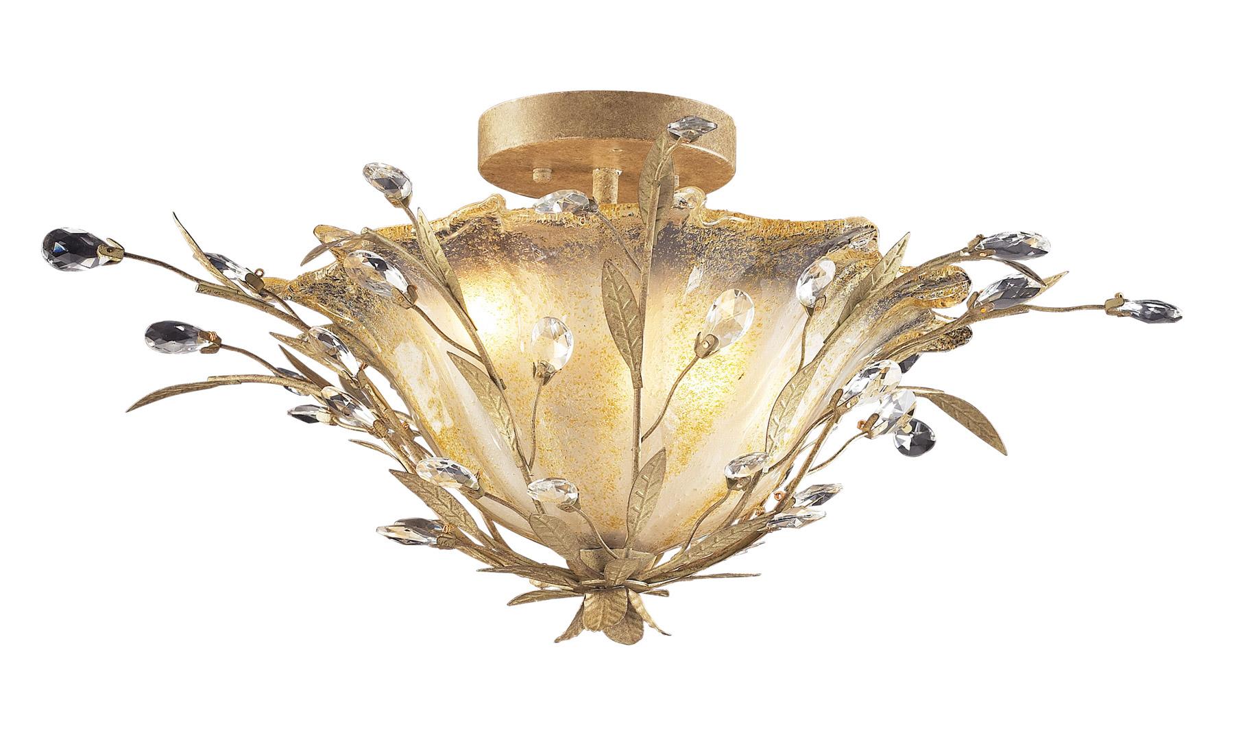 Elk Lighting 8069 2 Circeo Semi Flush Ceiling Fixture