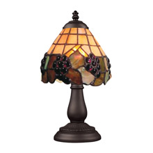 Elk Lighting 080-TB-07 Mix-N-Match 1 Light Table Lamp In Vintage Antique And Stained Glass