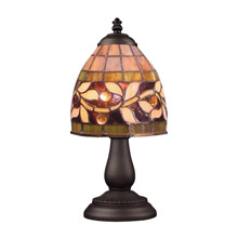 Elk Lighting 080-TB-13 Tiffany Mix-N-Match 1 Light Table Lamp In Tiffany Bronze