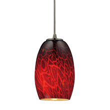 Elk Lighting 10220/1FBR Maui Mini Pendant
