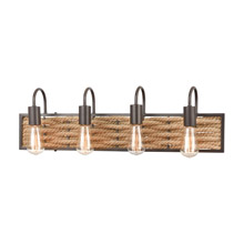 Elk Lighting 10754/4 4-Light Vanity Light in Oil Rubbed Bronze
