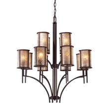 Elk Lighting 15036/8+4 Barringer Twelve Light Chandelier