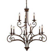 Elk Lighting 15043/6+3 Gloucester Nine Light Chandelier