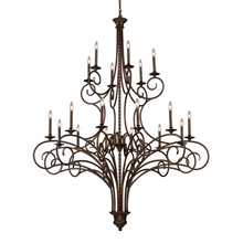 Elk Lighting 15044/12+6 Gloucester Eighteen Light Chandelier