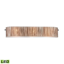 Elk Lighting 19066/3-LED Modern Organics 3 Light LED Vanity In Polished Chrome